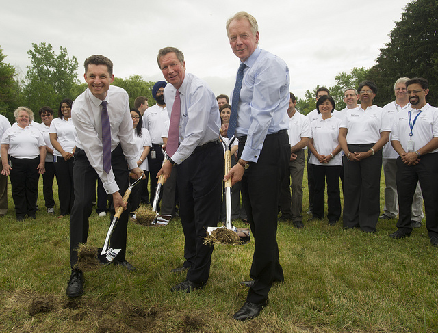 ohio groundbreaking